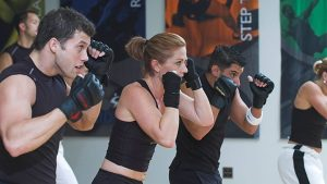 Group Fight Class at Elevate Fitness in Dewitt and Liverpool