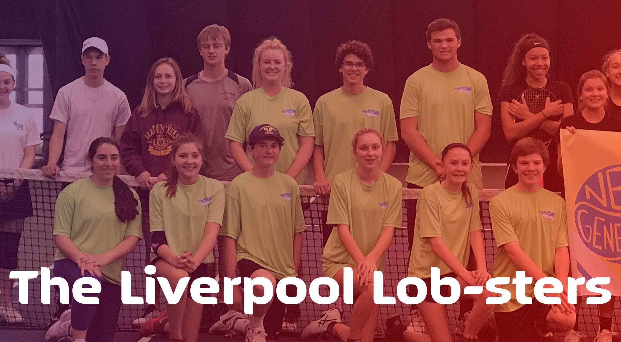 The Liverpool Lobsters Tennis Team from Elevate Fitness