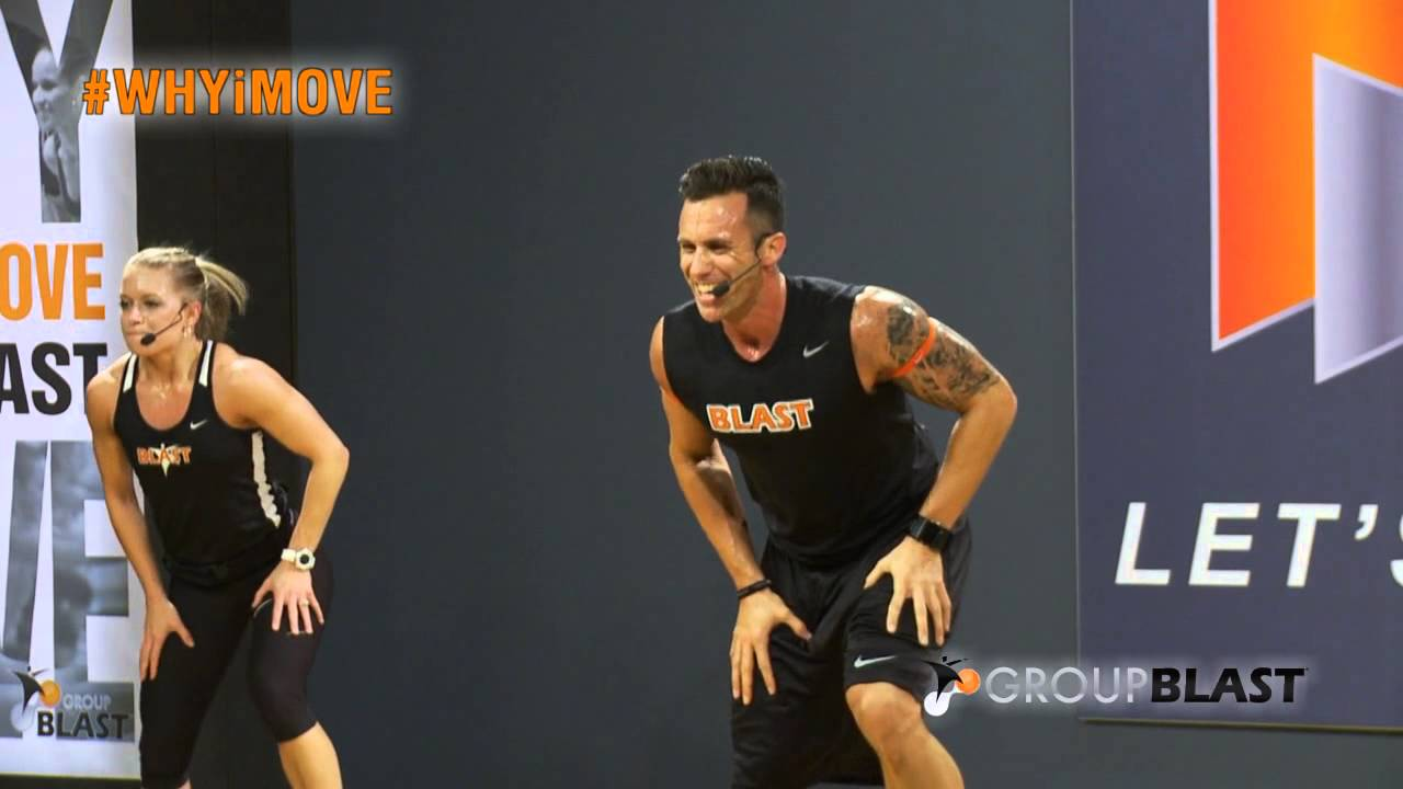 Group Blast Class at Elevate Fitness Clubs