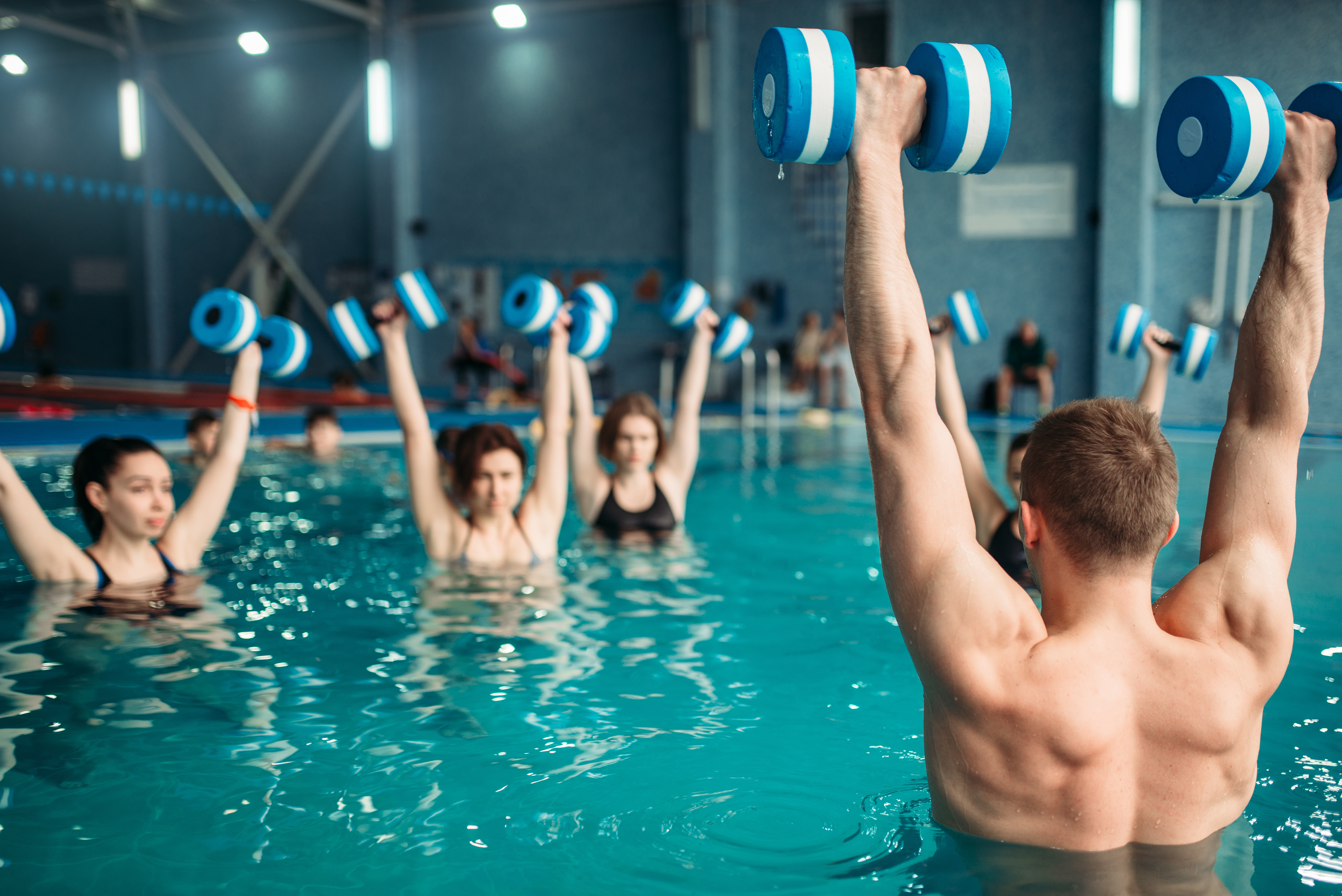 Why Workout in Water at Elevate Fitness