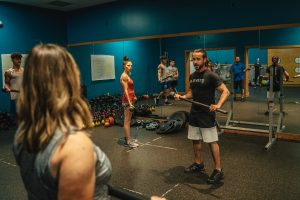 Mace Training at Elevate Fitness in Syracuse