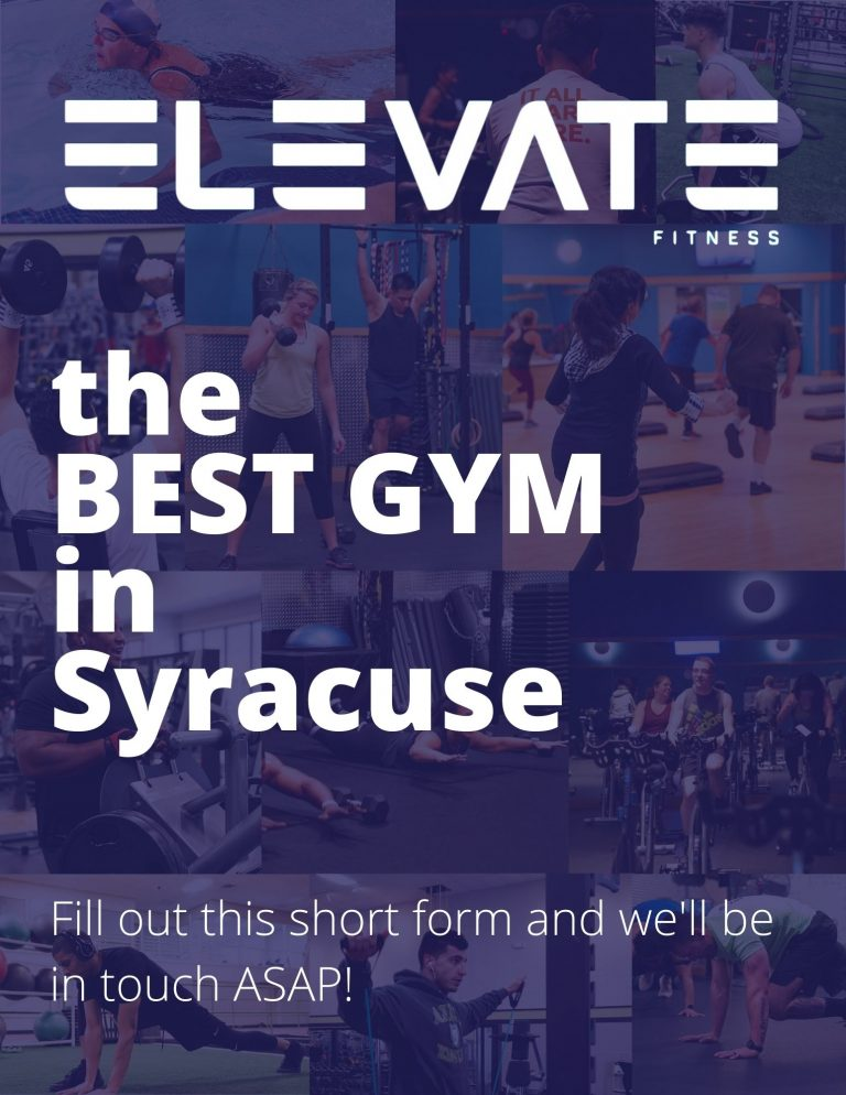 Elevate Fitness, the best gym in Syracuse, NY